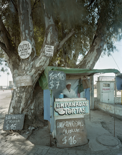 , 'Stand Selling Empanadas, Rte. 6, Montevideo, Department of Montevideo, Uruguay,' 2010, Robert Klein Gallery