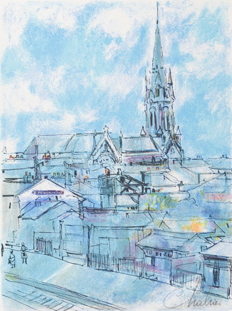 Nathalie Chabrier, 'Ménilmontant', 1982, Art Lithographies