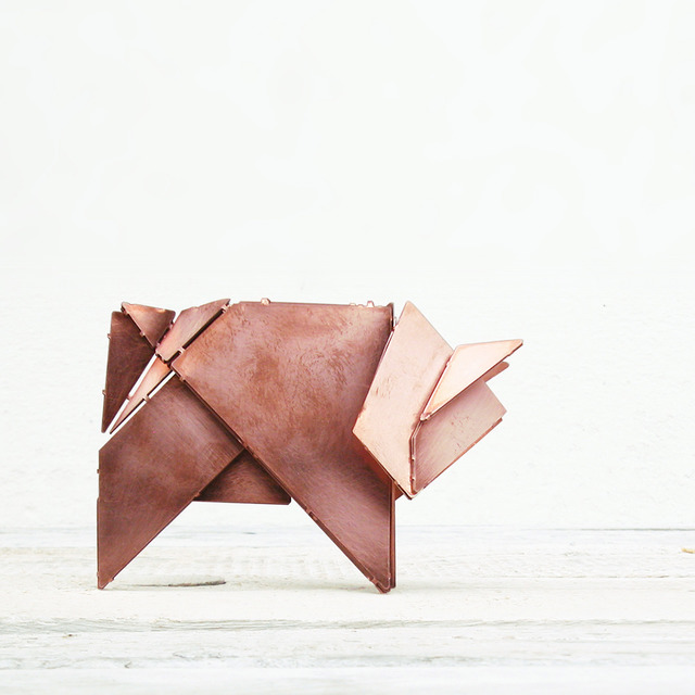 , 'Schwiene the Origami Pig,' 2013, The NWBLK