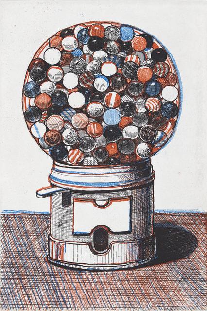 Wayne Thiebaud, 'Gumball Machine', 1964/2017, Crown Point Press