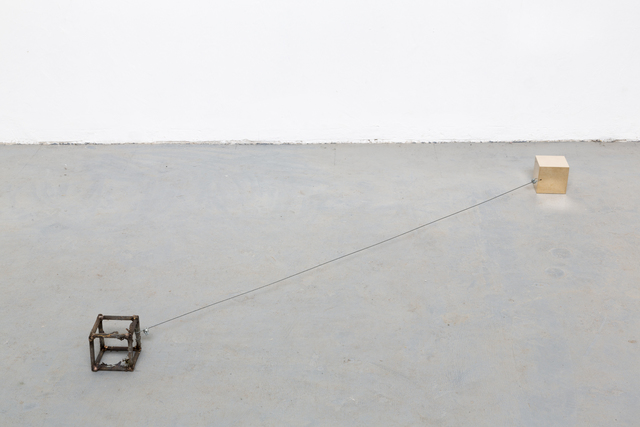 , 'Keats between cubes,' 2016, Nogueras Blanchard