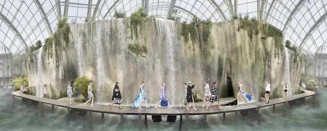 Simon Procter, 'Chanel Arcadia, Spring/Summer, Paris 2017', 2017, Rosenbaum Contemporary