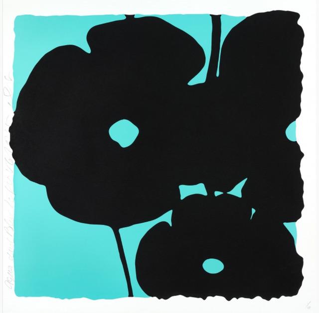 , 'Aqua and Black, Nov 6, 2015,' 2015, Toshkova Fine Art Advisory