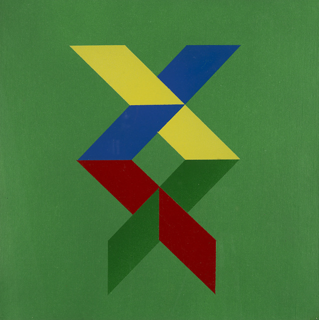 Edoardo Landi, 'Struttura cino prospettica', 1978, Finarte