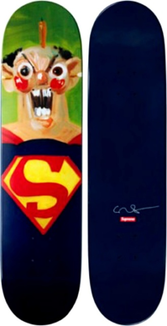 George Condo, 'Superman Skateboard (Limited Edition)', 2010, Alpha 137 Gallery Gallery Auction