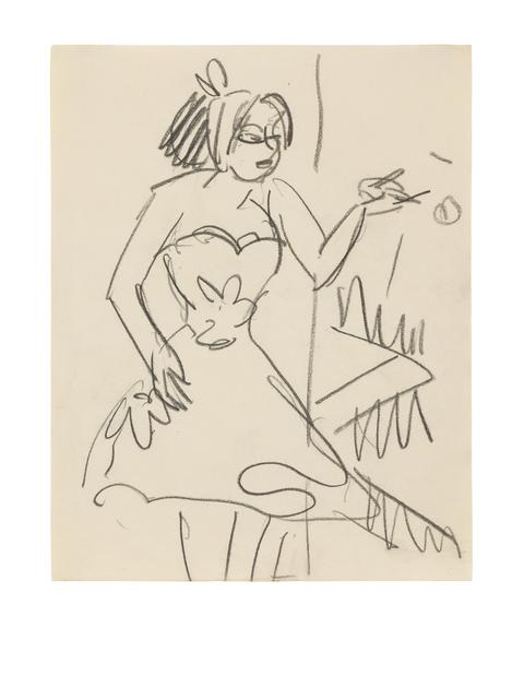 , 'Kleine Tänzerin - Kabarettistin,' ca. 1910, Ludorff