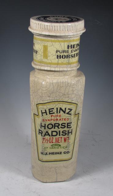 ", '""Heinz Horseradish Bottle"",' 2016, Bonner David Galleries"