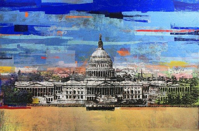 Houben R.T., '$50 US Capitol', 2017, DTR Modern Galleries