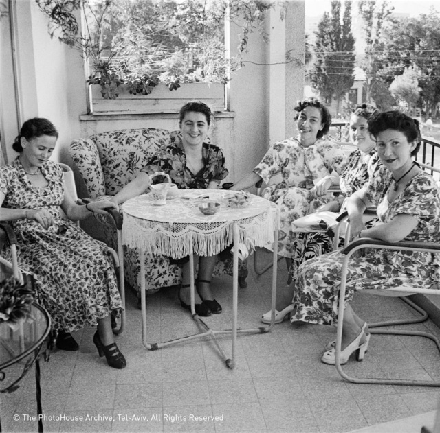 , 'reception at Polish Consul's Home, Tel Aviv,' 1948, °CLAIR Galerie