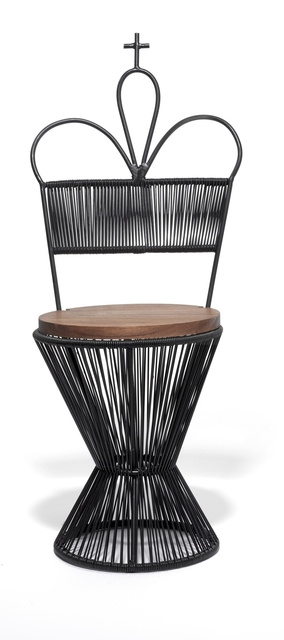 , 'King Chair - Black,' 2016, kinder MODERN
