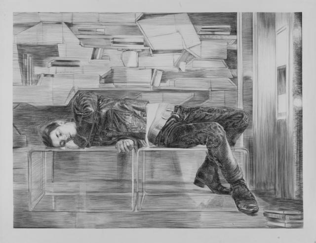 , 'Betty Bibliothèque,' 2014, Odile Ouizeman