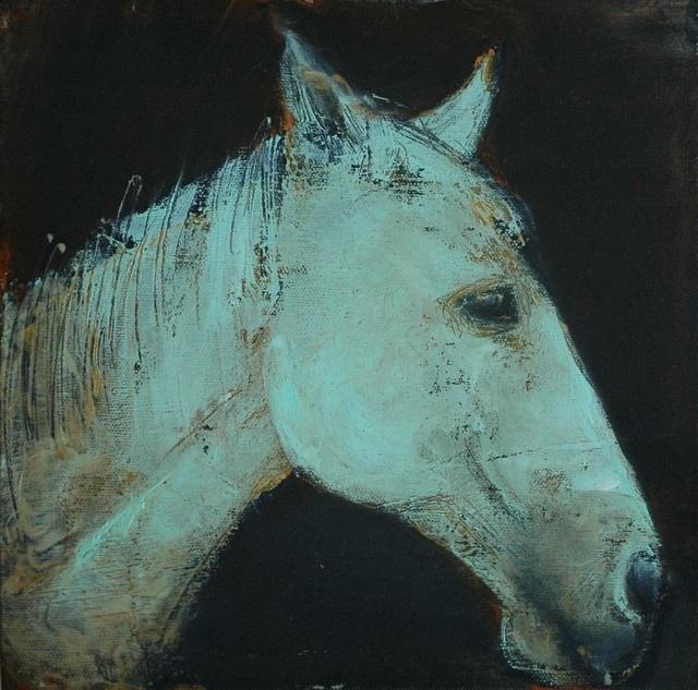, 'Green Horse Study,' 2017, LAUNCH LA