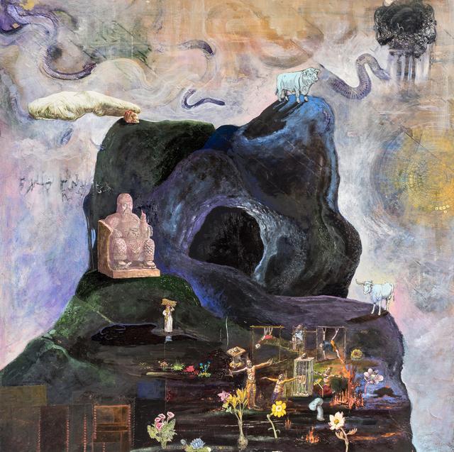 , 'Mountain, Holy Ground,' 2018, John Martin Gallery