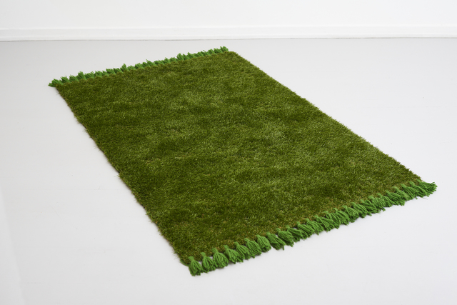 Filip Berg, 'Picnic table', 2020, Design/Decorative Art, (100% faux grass, 100% real wool, 200% climate change), Etage Projects