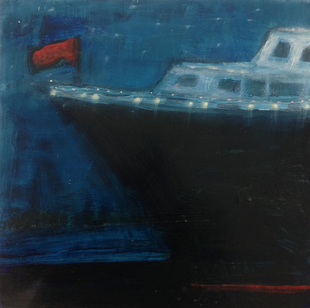 , 'Queen Mary at Night,' 2016, Sears-Peyton Gallery