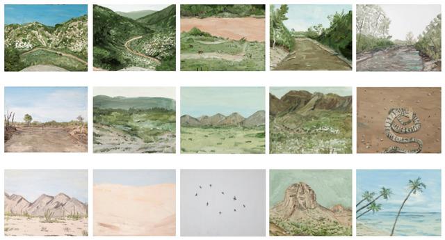 , 'Escapada al Sur (Sonora),' 2015, Galeria Leme
