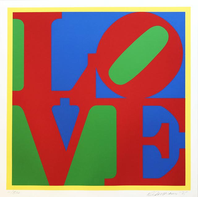 , ' Heliotherapy Love,' 1995, Hamilton-Selway Fine Art