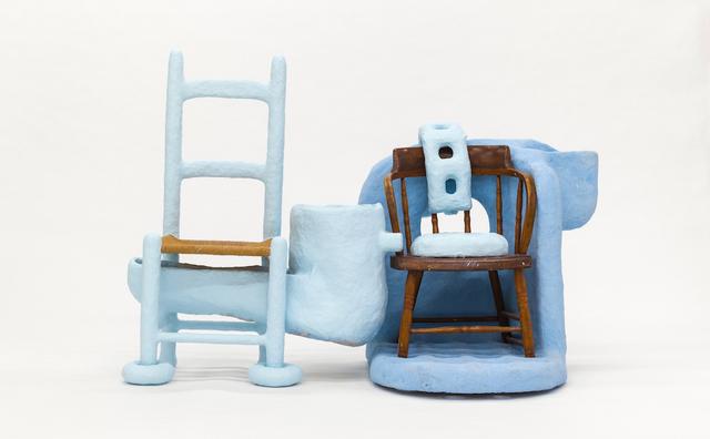 , 'Love Me, Protect Me Chair,' 2018, Tina Kim Gallery