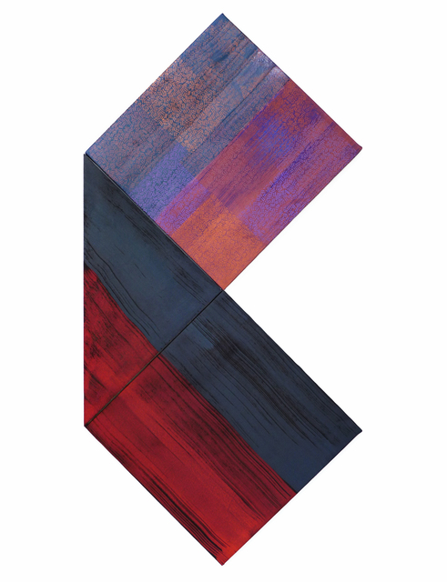 , 'Recto-Verso (Lining) - triptych,' 2016, MARUANI MERCIER GALLERY