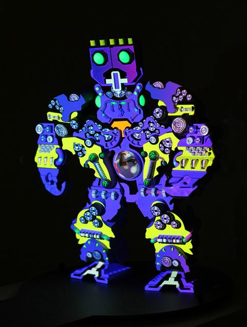 Peter Sarkisian, 'VideoMorphic Figure (Robot 1 v 2)', 2013, Modernism Inc.
