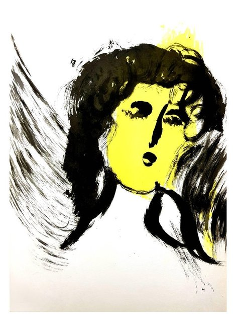 "Marc Chagall, 'Original Lithograph ""Woman Angel"" by Marc Chagall', 1956, Galerie Philia"
