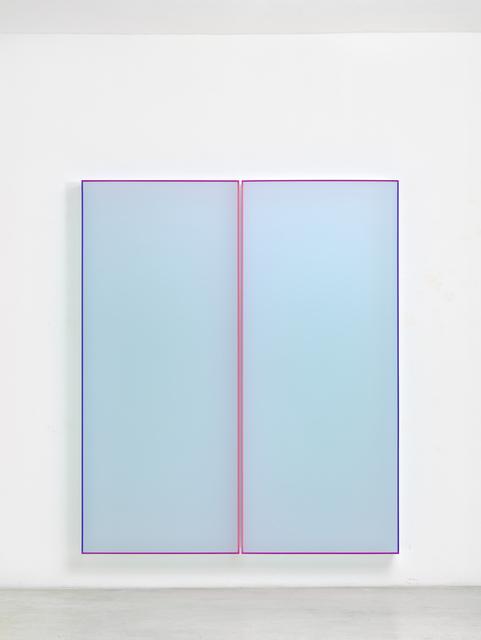 , 'Color Satin Ice Blue Tokyo,' 2018, Taguchi Fine Art