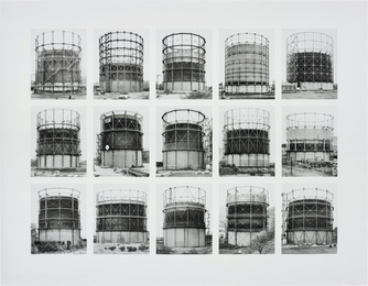 Gasbehälter (Gas Tanks), image VII, from Typologies series
