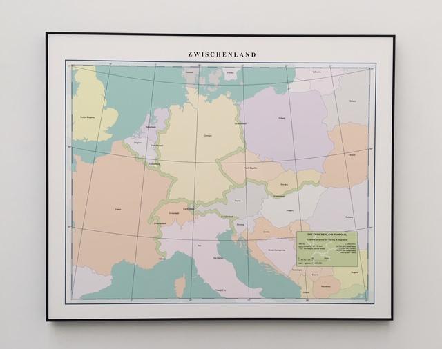 , 'Zwischenland,' 2018, Tatjana Pieters