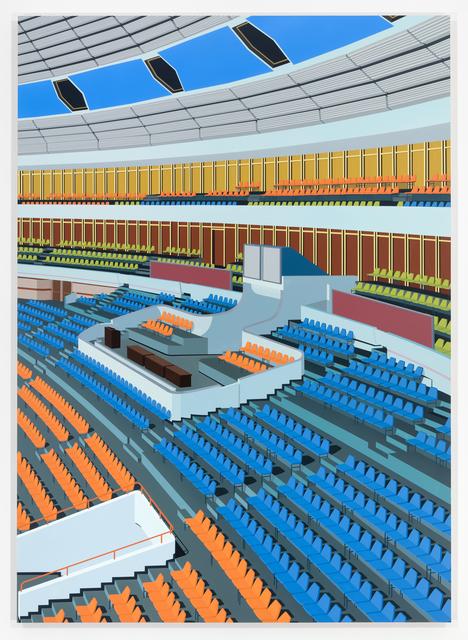 , 'Stadium, Pyongyang,' 2018, Peter Blum Gallery