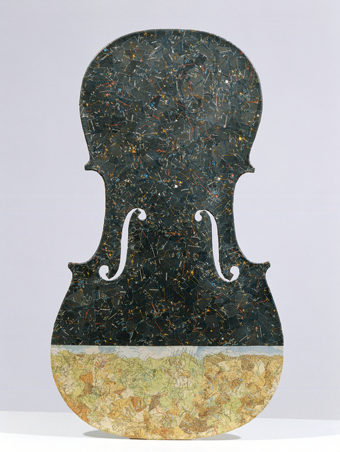 , 'Violin in the Night,' 1973, Open Art
