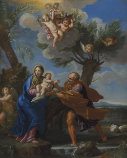 Carlo Maratti, 'The Flight into Egypt', Painting, Oil on copper, Christie's Old Masters