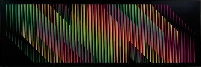 , 'Adicion Cromatica Trapecio Panam 1,' 2010, Galería RGR
