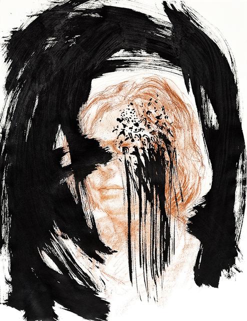 Deborah Lutz, 'Tentative Sight', 2016, Painting, Sanguine, ink on paper, The Painting Center