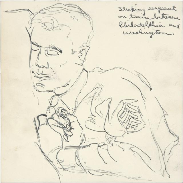 , 'Untitled,' 1944, Richard Diebenkorn Foundation