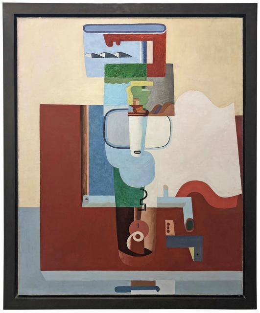 , 'Table, bouteille et livre,' 1926, Galerie Knoell, Basel