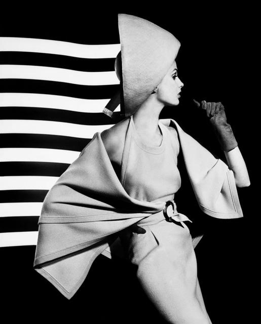 , 'Dorothy + white light stripes,' 1962, HackelBury Fine Art