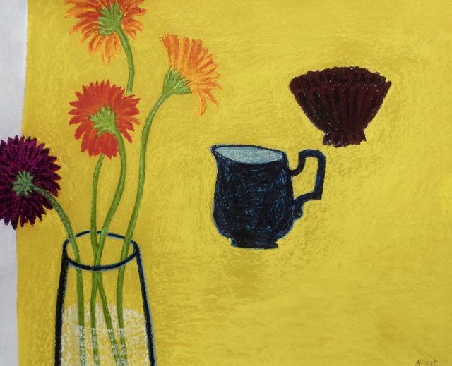 , 'Yellow Table ,' 2012, Susan Eley Fine Art