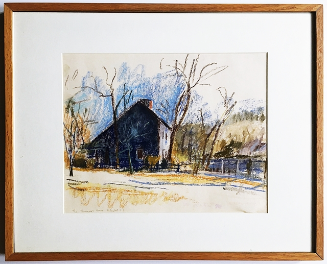 , 'Thompson House on Old Country Setauket (Grace Borgenicht Gallery),' 1980, Alpha 137 Gallery