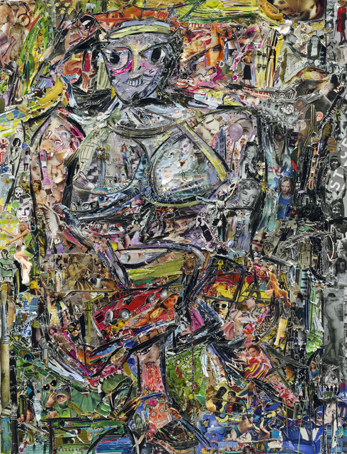 , 'Woman I, after De Kooning (Pictures of Magazines 2),' 2013, Sikkema Jenkins & Co.