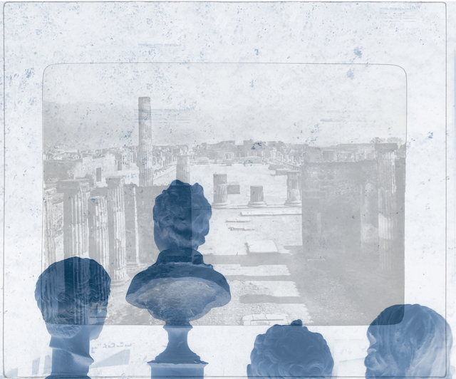 , 'Pompeii Kaunas from the series Grand Tour Revisited,' 2014, Elizabeth Houston Gallery