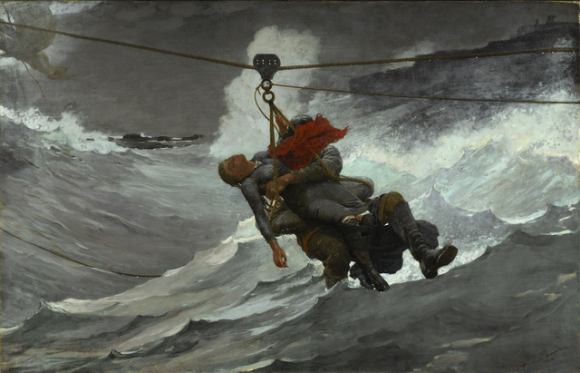 , 'The Life Line,' 1884, Milwaukee Art Museum