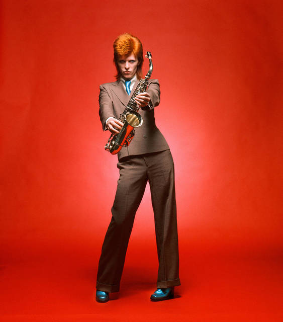 , 'David Bowie. Sax Full-Length Color, London,' 1973, The Bonnier Gallery