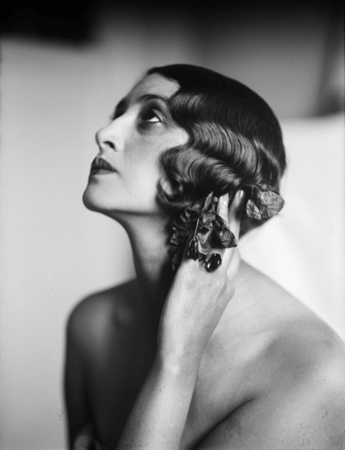 , 'Renée, Juan-Les-Pins, France, May,' 1930, ElliottHalls
