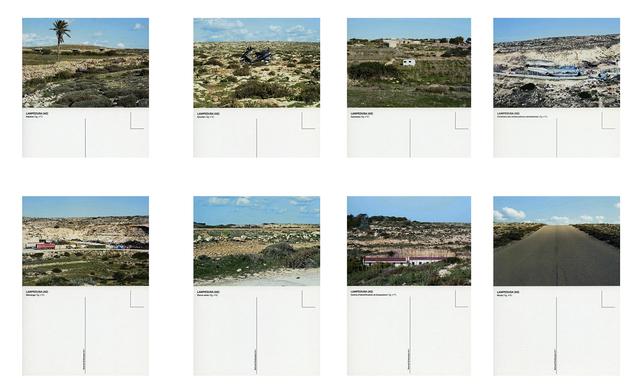 , 'Lampedusa,' 2010, Galerie Les filles du calvaire