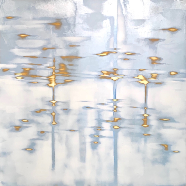 , 'Reverie (silver/blue),' 2019, George Billis Gallery