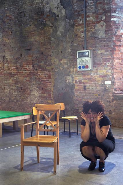 , 'The Sinthome Score,' 2015, 56th Venice Biennale