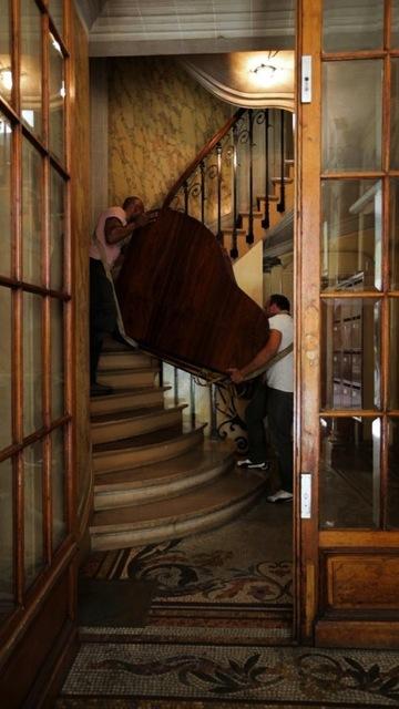 , 'Prepared Piano for Movers (Haussmann),' 2012, Anna Schwartz Gallery