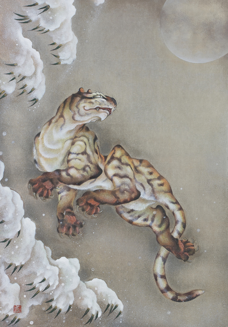 , 'Jumping Tiger,' 2017, SEIZAN Gallery