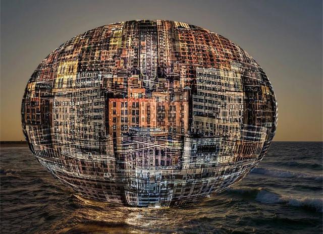 , 'Floating City,' 2016, Frogman Art Gallery