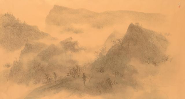 Chung-Ming Su, 'Autumn Fog 霧鎖金秋', 2015, Artrue Gallery